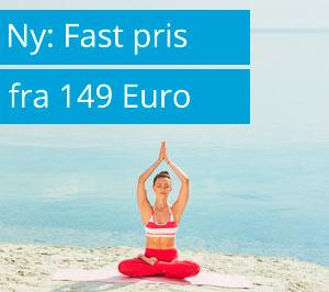 Ny: Fast pris fra 149 Euro