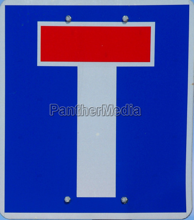 sign signal drive blue walk go