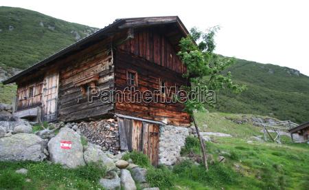 gressensteinalm gressenstein tiroler alpen wildschoenau tyrol