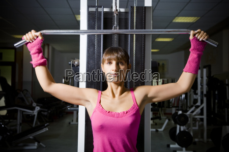 woman motion postponement moving movement sport