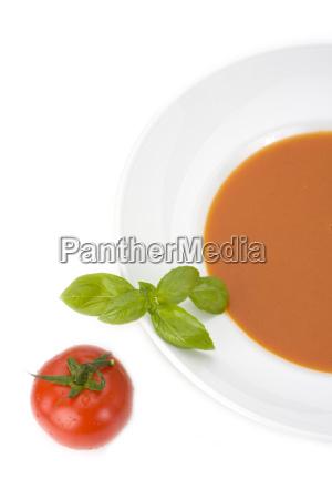 sopa de tomate casera