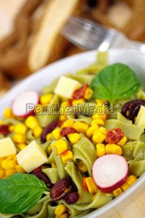 corn noodle salad
