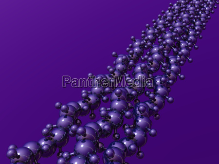 science atom abstract chemistry physics rope
