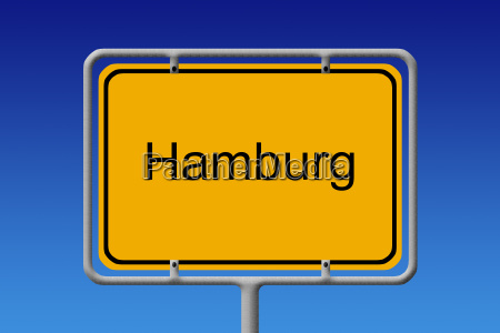hamburg sign