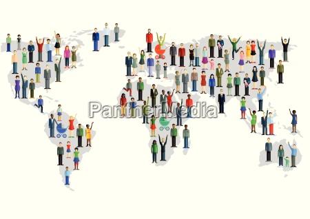 grupo de personas que forman un