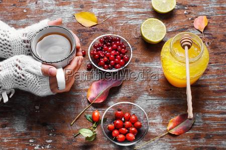 afhjælpning, af, bær, og, honning - 18989415