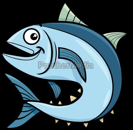 personaje de dibujos animados de atun