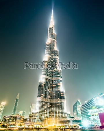 famous burj khalifa dubai