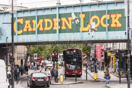 double decker bus on the shopping