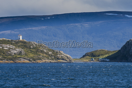 lonely lighthouse in the beagle channel