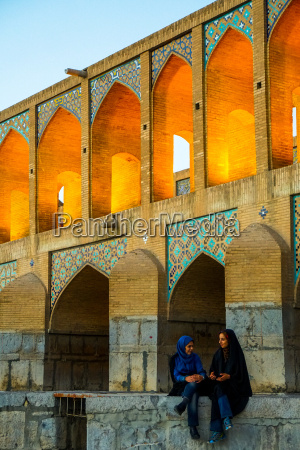 khajo bridge built by shah abbas