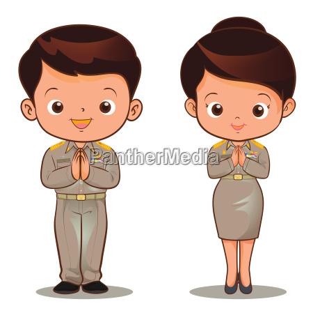 thai official sawasdee