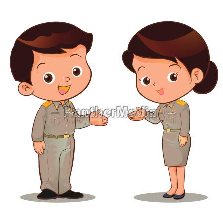thai official garb invite
